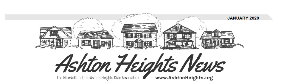 Ashton Heights January 2020 Newsletter